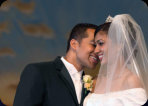 Santa Clara Jubilee Christian Church Wedding Photography altar candid 27