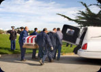 Funeral Photography, Catholic cemetery, military funeral 11